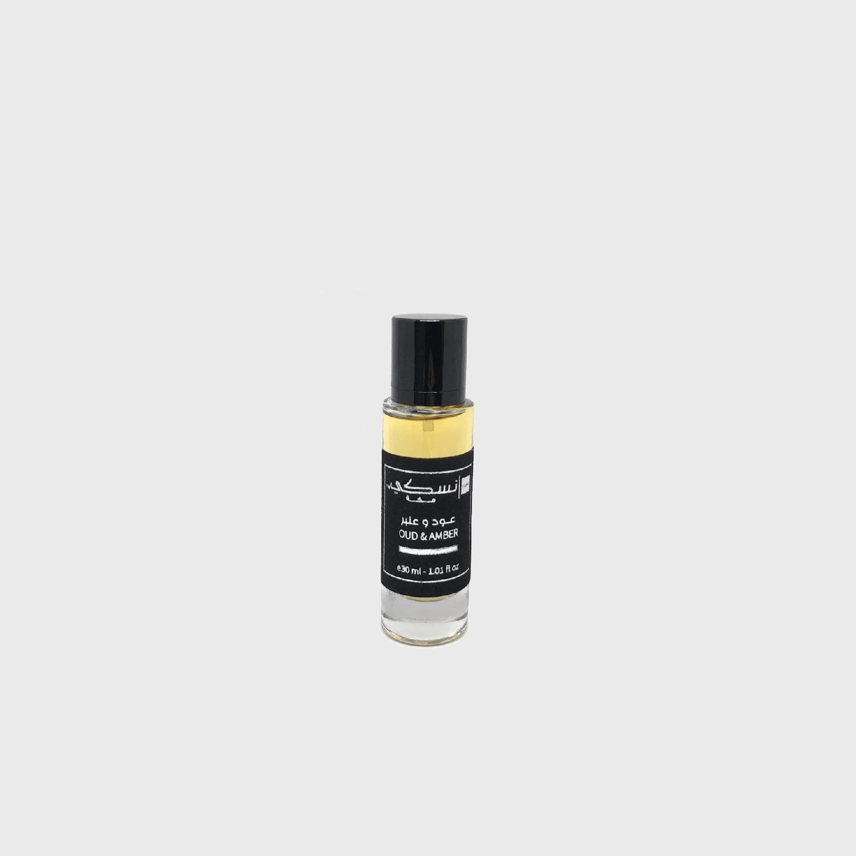 Oud & Amber Perfume