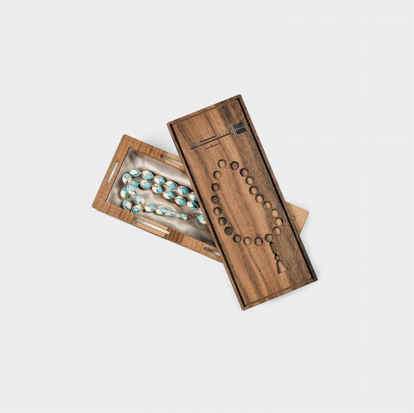 Fayrooz Stone Prayer Beads