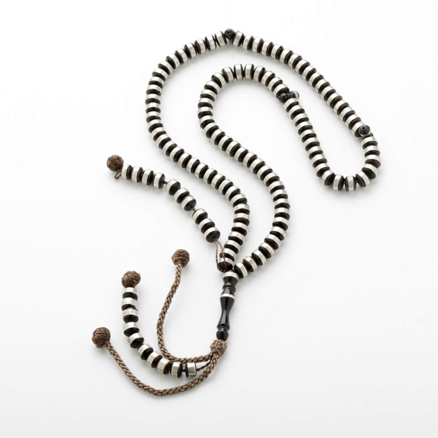 Cook Prayer Beads with Silver 1