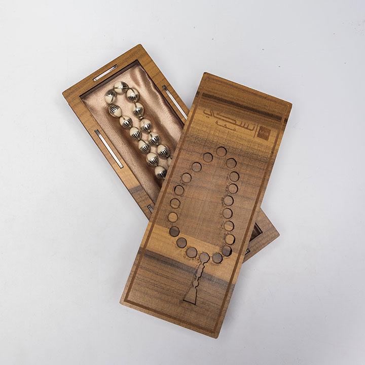 Ivory Silver Prayer Beads