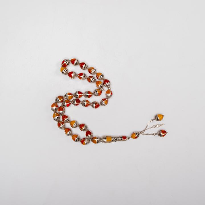 Kahraman Silver Prayer Beads