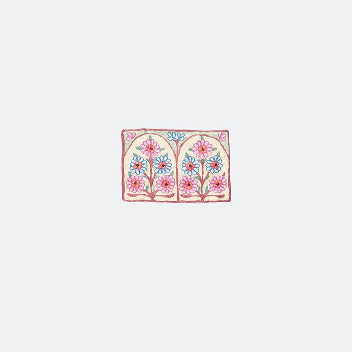 طقم زهرة كشمير ١٠  (٣قطع)