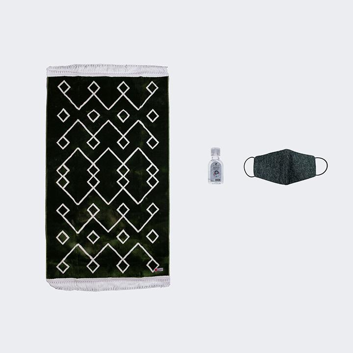 Al Ridwan Mat (Hand Sanitizer and Mask)
