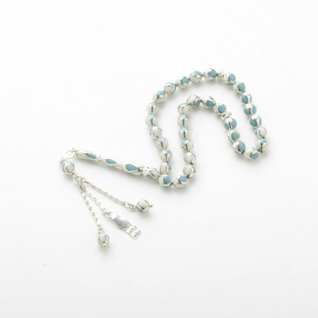 Fayrooz Stone Prayer Beads