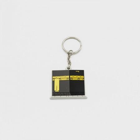 Kaaba Keychain - Rubber