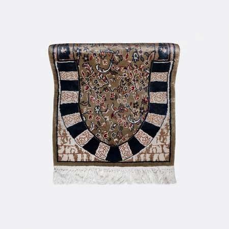 سجادة الروضة الحرير (صناعة يدوية)
