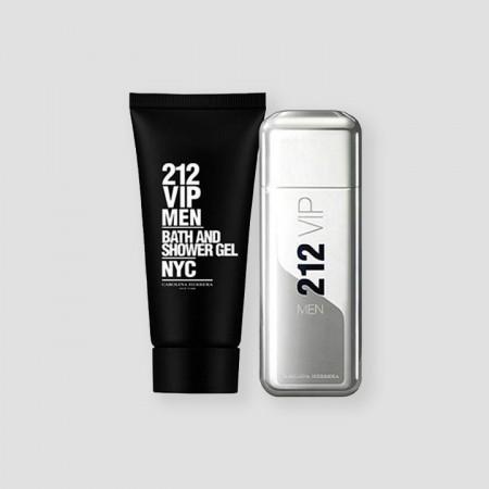 Carolina Herrera 212 VIP Gift Set For Men 100 ML