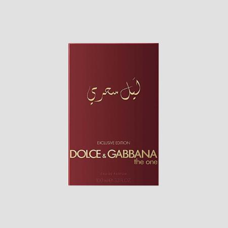 DOLCE & GABBANA THE ONE MYSTERIOUS NIGHT EDP 100ML