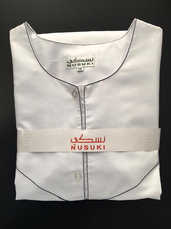 Contemporary Emirati Thobe ( White)
