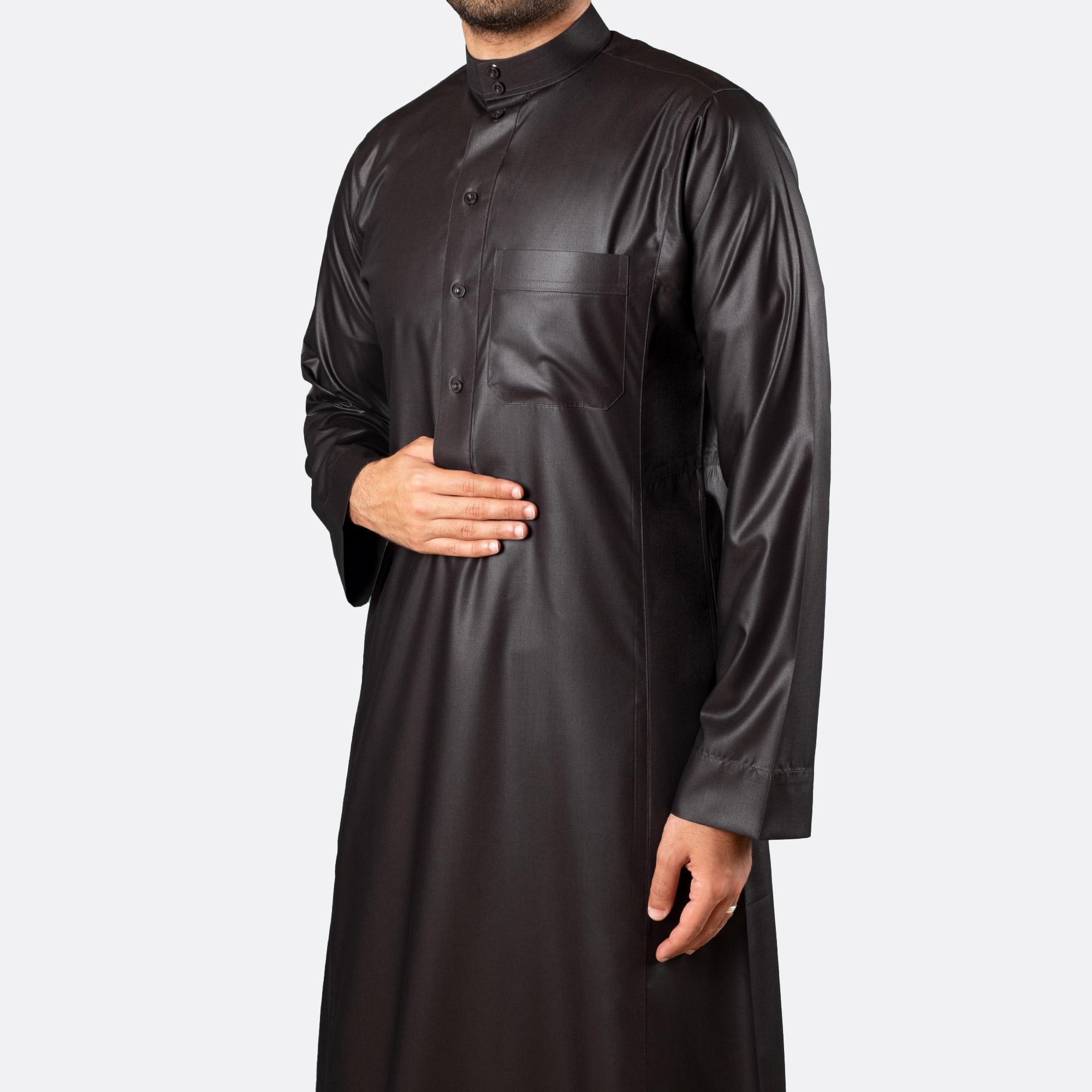 Classic Premium Thobe Black