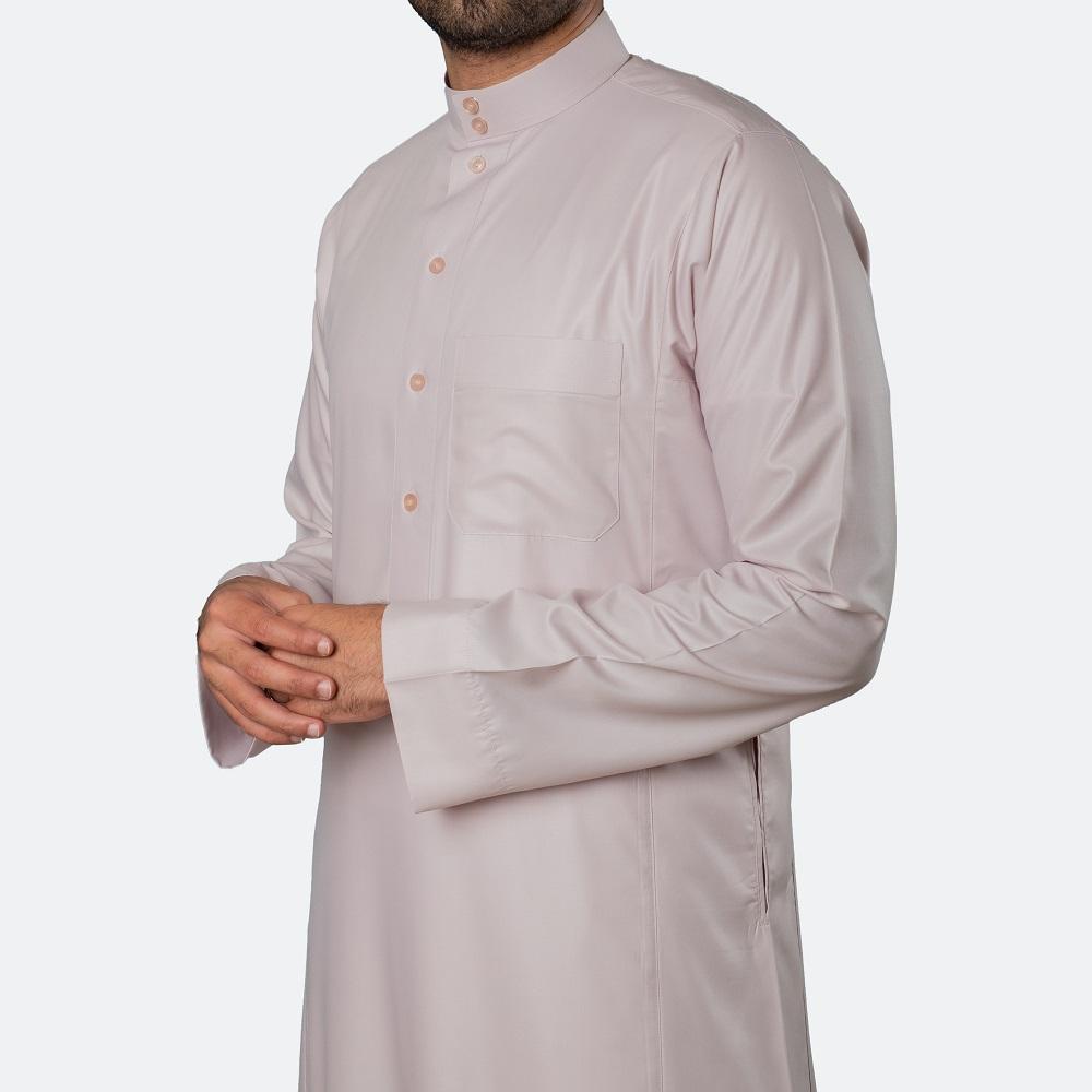 ثوب كلاسيكي فاخر الخوخي