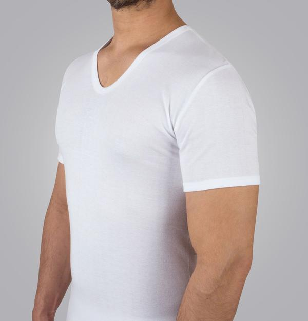 Men's undershirt half sleeve seven