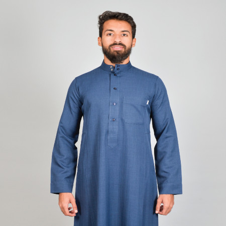 Four Seasons Thobe Plain (Dark Blue)