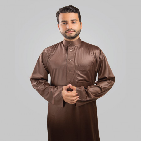 Comfort   Thobe  (Medium Brown)