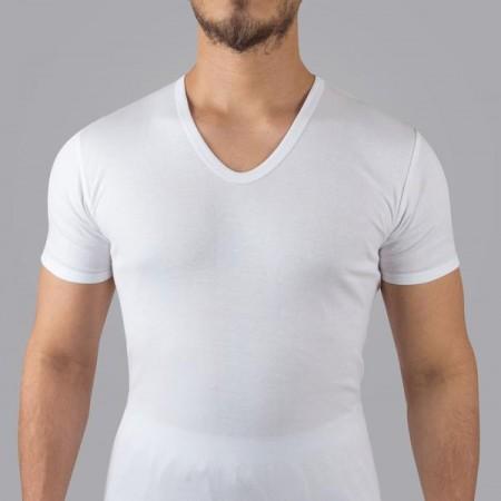 Men's undershirt half sleeve seven